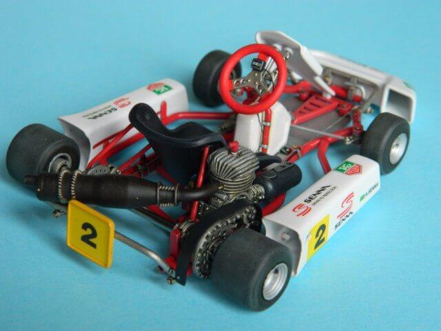 Kart  A. SENNA Bercy 93 - Fujimi 1/20ème - Par fombec6 - Fini . Ks04310