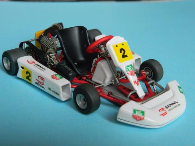 Kart  A. SENNA Bercy 93 - Fujimi 1/20ème - Par fombec6 - Fini . Ks04410