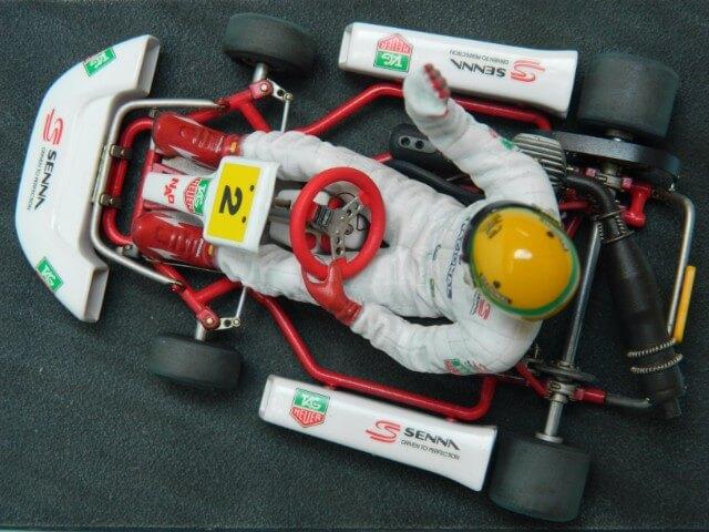 Kart  A. SENNA Bercy 93 - Fujimi 1/20ème - Par fombec6 - Fini . - Page 2 Ks05110