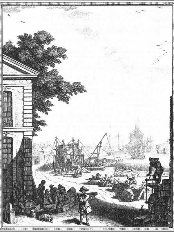 Elémens de l'Architecture Navale - Duhamel du Monceau - 1758  L003a10