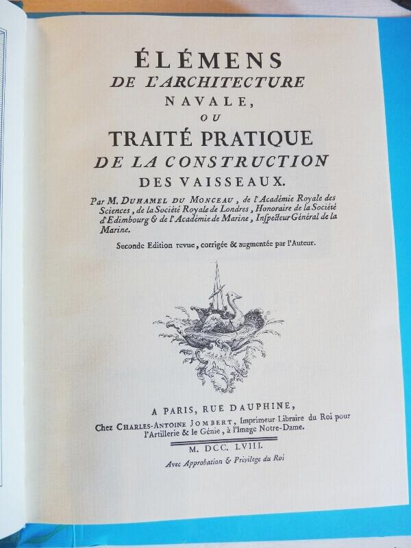 Elémens de l'Architecture Navale - Duhamel du Monceau - 1758  L003b10