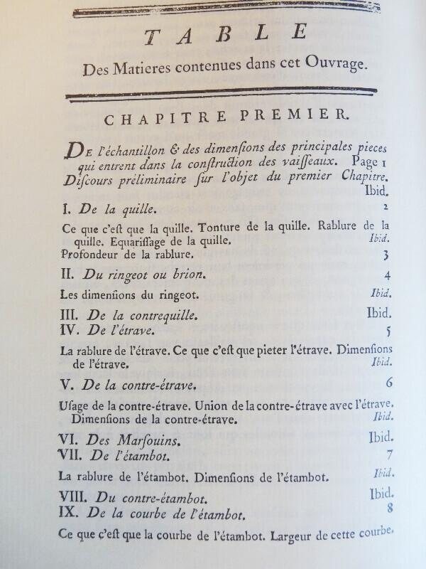Elémens de l'Architecture Navale - Duhamel du Monceau - 1758  L003c10