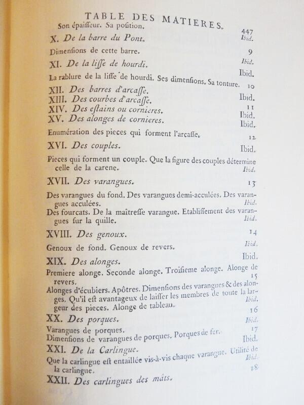 Elémens de l'Architecture Navale - Duhamel du Monceau - 1758  L003d10