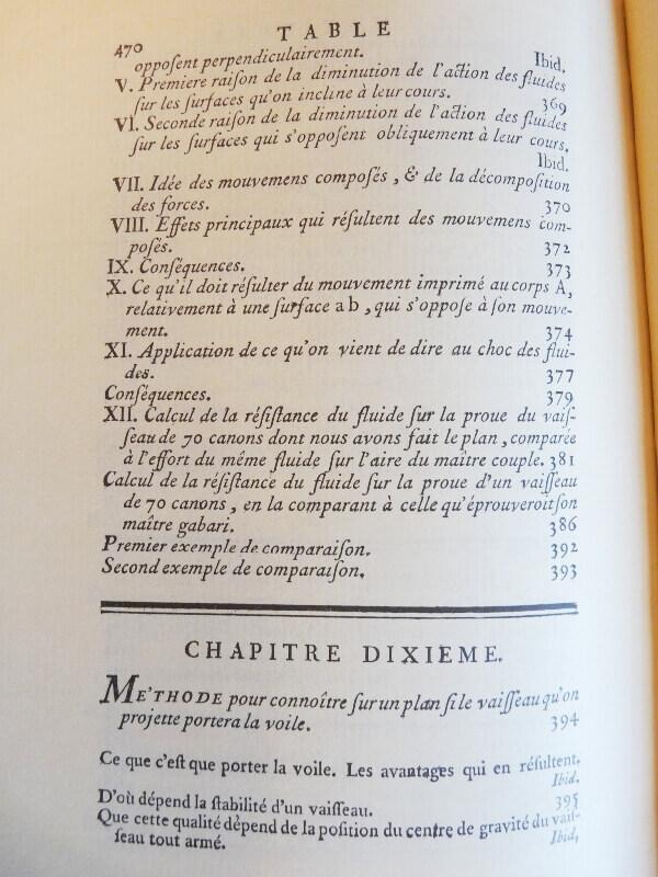 Elémens de l'Architecture Navale - Duhamel du Monceau - 1758  L003e10
