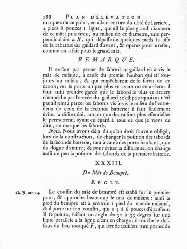 Elémens de l'Architecture Navale - Duhamel du Monceau - 1758  L003h10