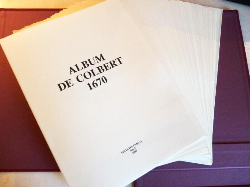 Album de Colbert - 1670 - Mr de Seignelay & Jean Jouve L004a10