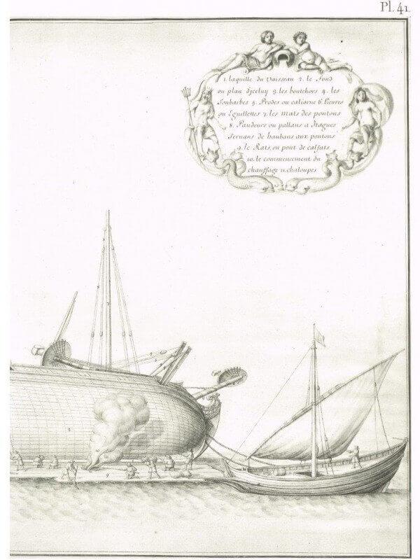 Album de Colbert - 1670 - Mr de Seignelay & Jean Jouve L004j10
