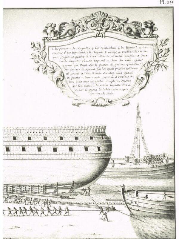 Album de Colbert - 1670 - Mr de Seignelay & Jean Jouve L004k10