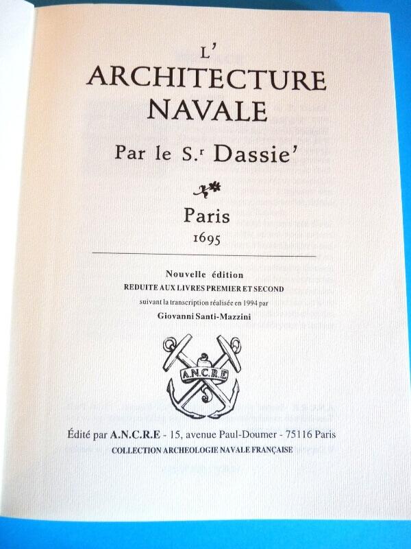 L'Architecture Navale - Dassie' - 1695 L005a10