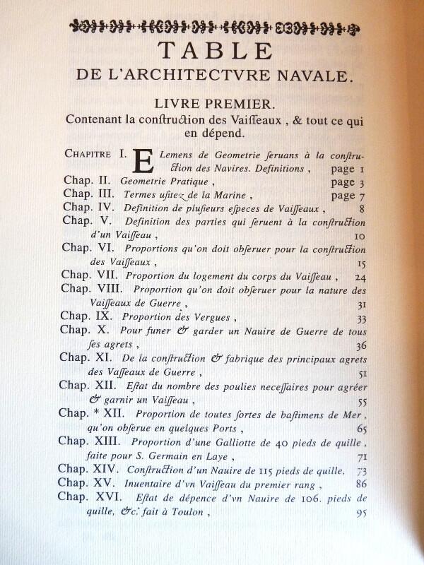 L'Architecture Navale - Dassie' - 1695 L005e10