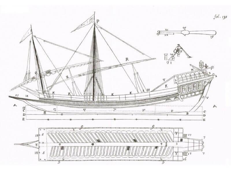 L'Architecture Navale - Dassie' - 1695 L005i10