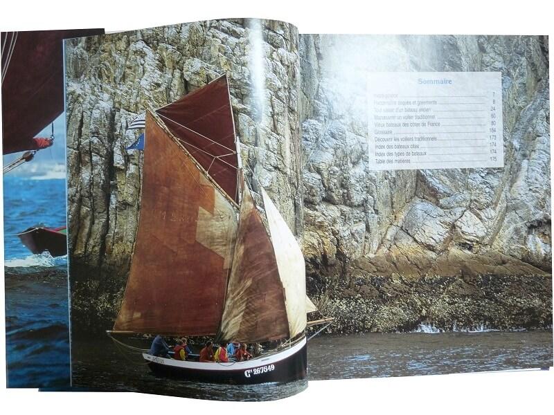 La voile et les voiliers de tradition - D. Lebrun & Ph. Payench L006c10
