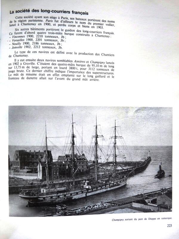 Grands voiliers Français - 1880 à 1930 - Jean Randier L009e10