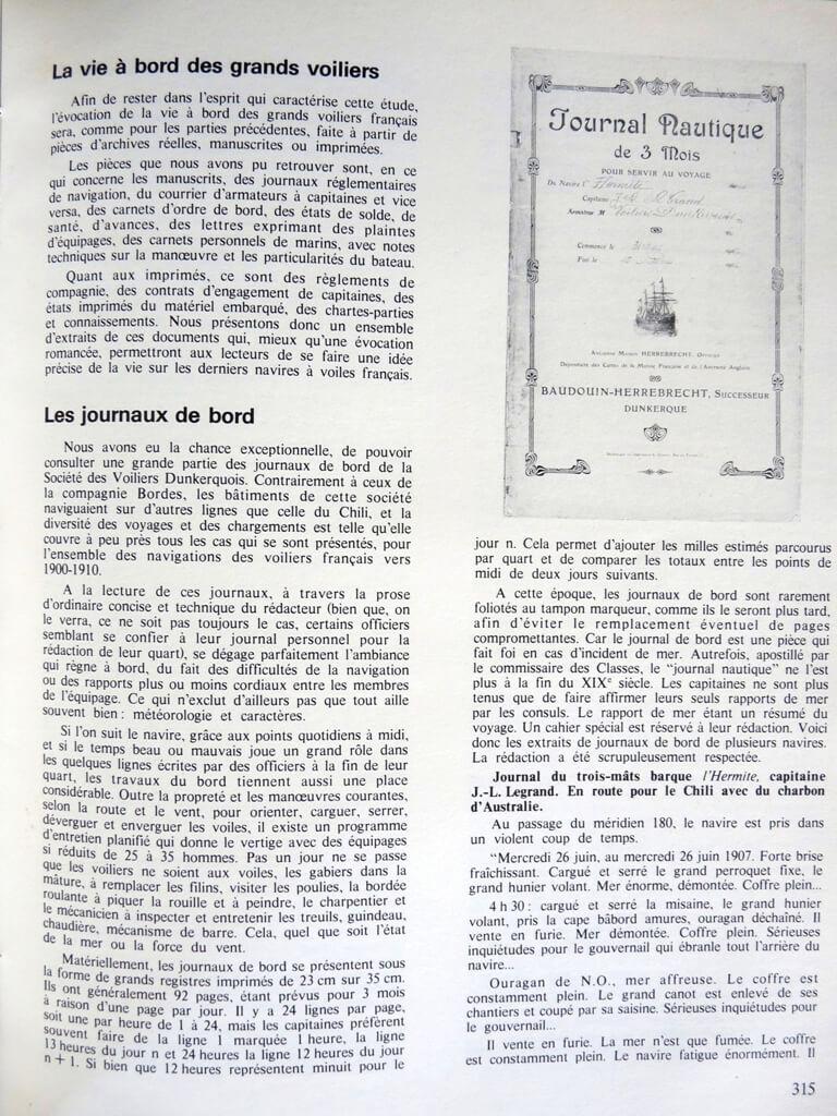 Grands voiliers Français - 1880 à 1930 - Jean Randier L009g10