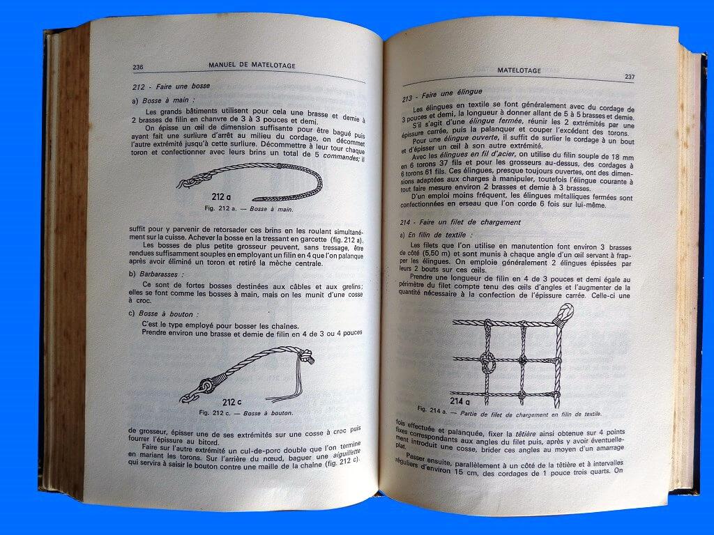 Manuel de matelotage & de voilerie à l'usage des marins professionnels et des plaisanciers - G. Devillers L010e10