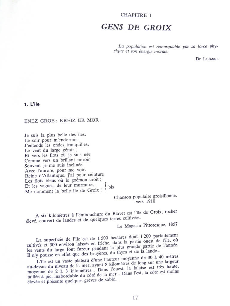 Groix - L'île des Thoniers - Dominique Duviard L011d10