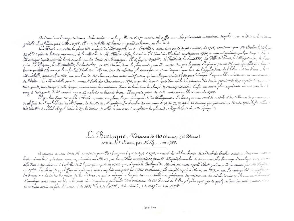 Souvenirs de Marine conservés - 1ère partie - Tome I & II - Vice Amiral Pâris L017o10