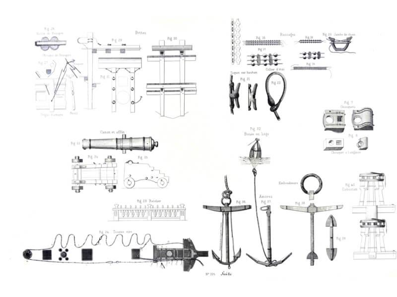 Souvenirs de Marine conservés - 1ère partie - Tome I & II - Vice Amiral Pâris L017q10
