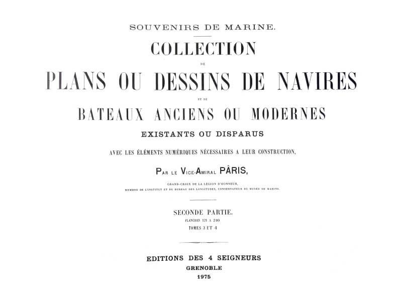 Souvenirs de Marine conservés - 2ème partie - Tome III & IV - Vice Amiral Pâris L018b10