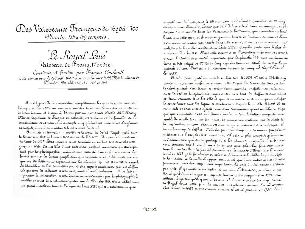 Souvenirs de Marine conservés - 2ème partie - Tome III & IV - Vice Amiral Pâris L018k10