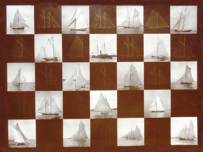 1870 - American & British yacht designs - 1887 - T1 - V1 - F. Chevalier & J. Taglang  L020b10