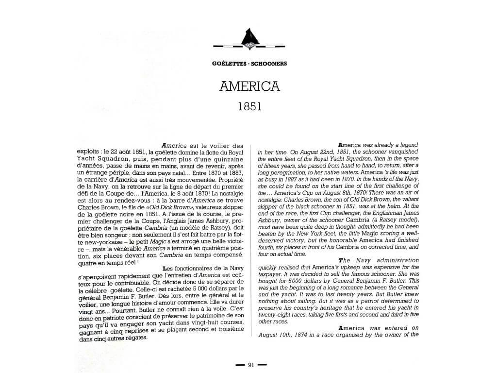 1870 - American & British yacht designs - 1887 - T1 - V1 - F. Chevalier & J. Taglang  L020k10