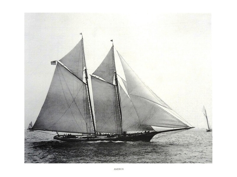1870 - American & British yacht designs - 1887 - T1 - V1 - F. Chevalier & J. Taglang  L020l10