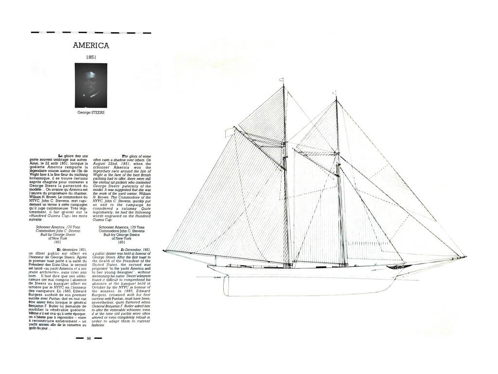 1870 - American & British yacht designs - 1887 - T1 - V1 - F. Chevalier & J. Taglang  L020n10