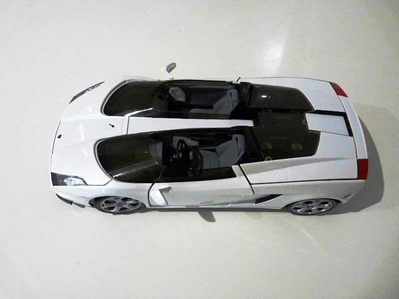 Lamborghini Concept S - 2005 - Mondo Motors 1/18 ème Lambor35
