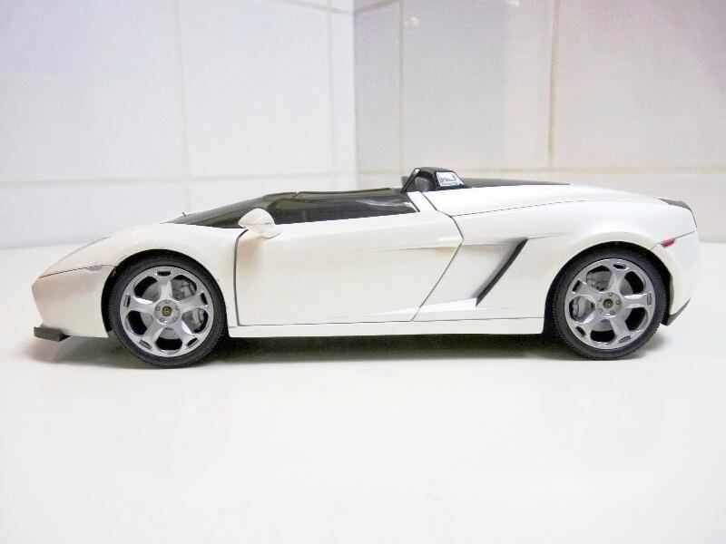 Lamborghini Concept S - 2005 - Mondo Motors 1/18 ème Lambor45