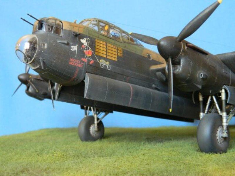 Avro Lancaster Mk.III - Tamiya 1/48 - Par fombec6 - Fini. - Page 7 Lanc_375