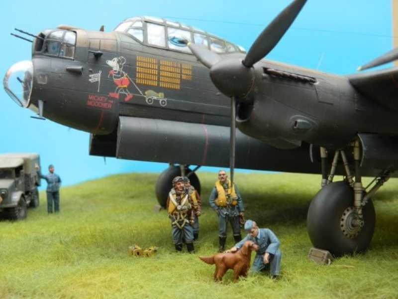 Avro Lancaster Mk.III - Tamiya 1/48 - Par fombec6 - Fini. - Page 7 Lanc_392
