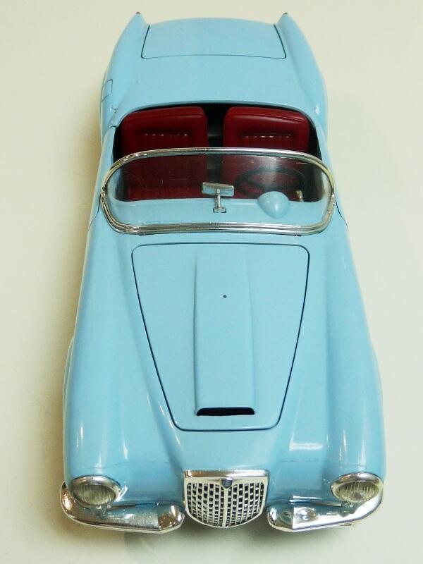 Lancia Aurélia B24 Spider bleu - 1955 - BBurago 1/18 ème Lancia17