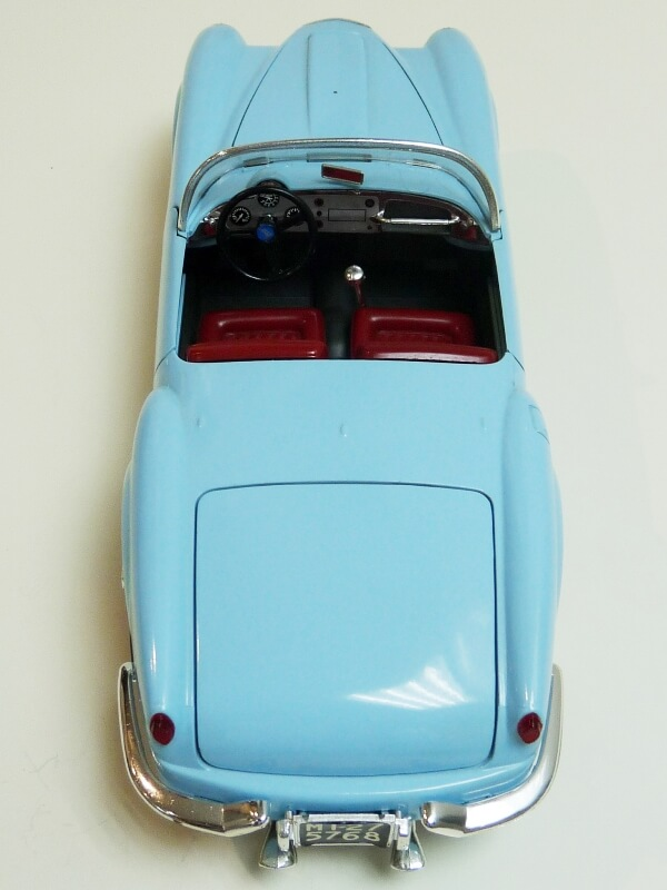Lancia Aurélia B24 Spider bleu - 1955 - BBurago 1/18 ème Lancia18