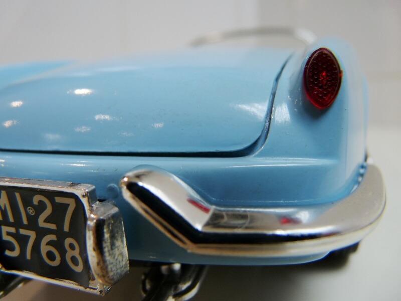 Lancia Aurélia B24 Spider bleu - 1955 - BBurago 1/18 ème Lancia26