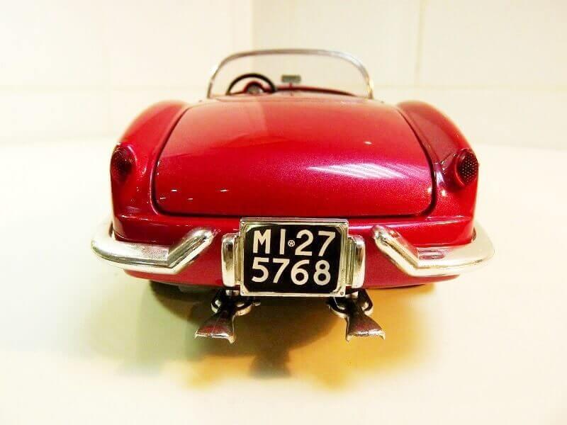 Lancia Aurélia B24 Spider rouge - 1955 - BBurago 1/18ème Lancia31