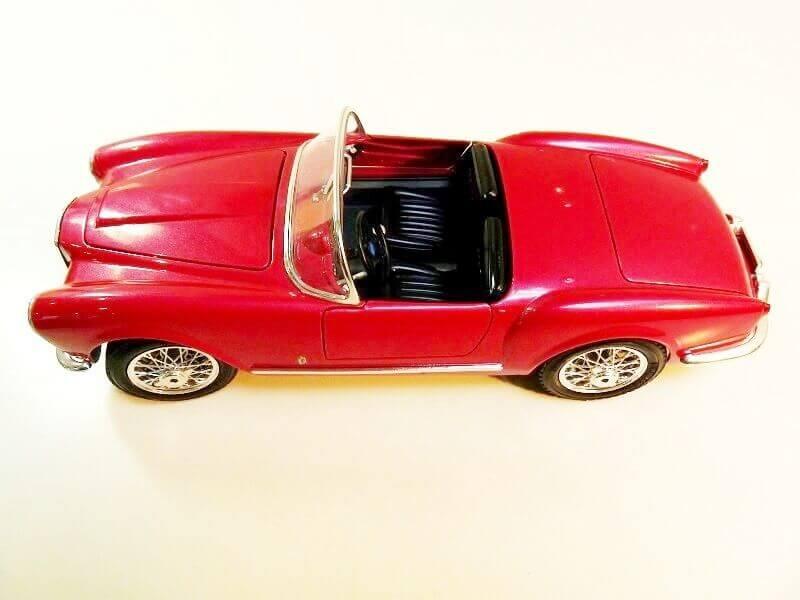 Lancia Aurélia B24 Spider rouge - 1955 - BBurago 1/18ème Lancia33