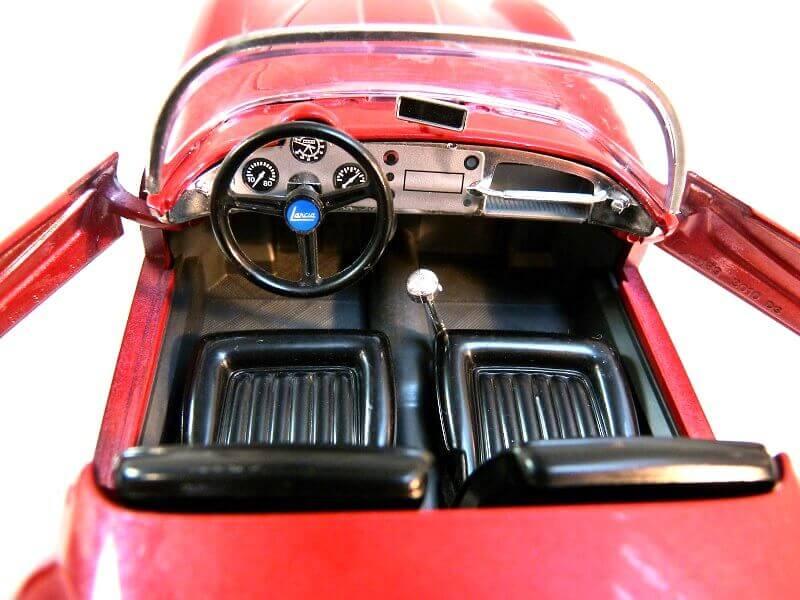 Lancia Aurélia B24 Spider rouge - 1955 - BBurago 1/18ème Lancia41