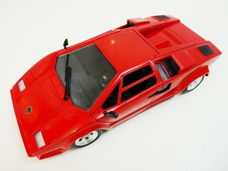 Lamborghini Countach LP 5000 QuattroValvole - 1983 - Tonka Polistil 1/18 ème Lclp_511