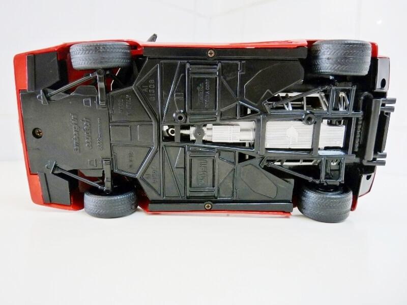 Lamborghini Countach LP 5000 QuattroValvole - 1983 - Tonka Polistil 1/18 ème Lclp_513