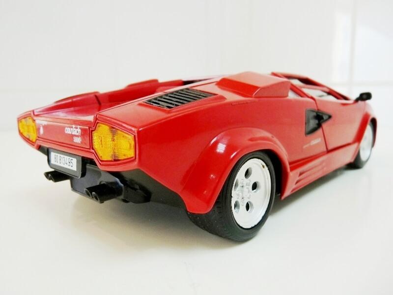 Lamborghini Countach LP 5000 QuattroValvole - 1983 - Tonka Polistil 1/18 ème Lclp_517