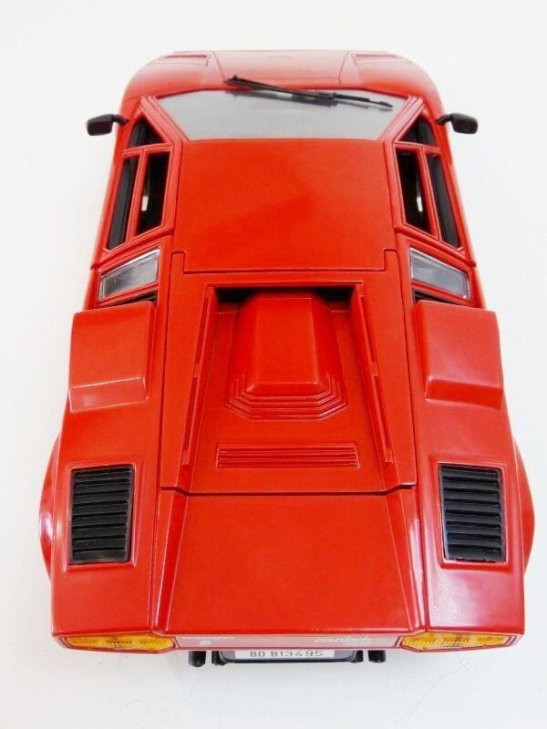 Lamborghini Countach LP 5000 QuattroValvole - 1983 - Tonka Polistil 1/18 ème Lclp_519