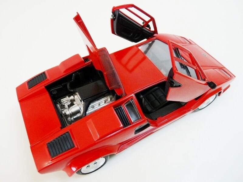 Lamborghini Countach LP 5000 QuattroValvole - 1983 - Tonka Polistil 1/18 ème Lclp_522