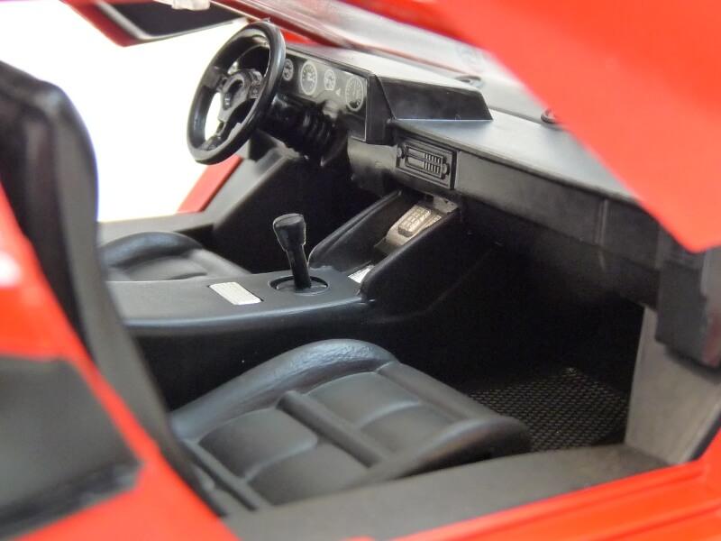 Lamborghini Countach LP 5000 QuattroValvole - 1983 - Tonka Polistil 1/18 ème Lclp_523