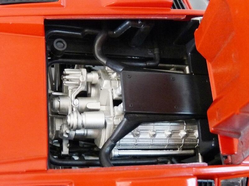 Lamborghini Countach LP 5000 QuattroValvole - 1983 - Tonka Polistil 1/18 ème Lclp_525