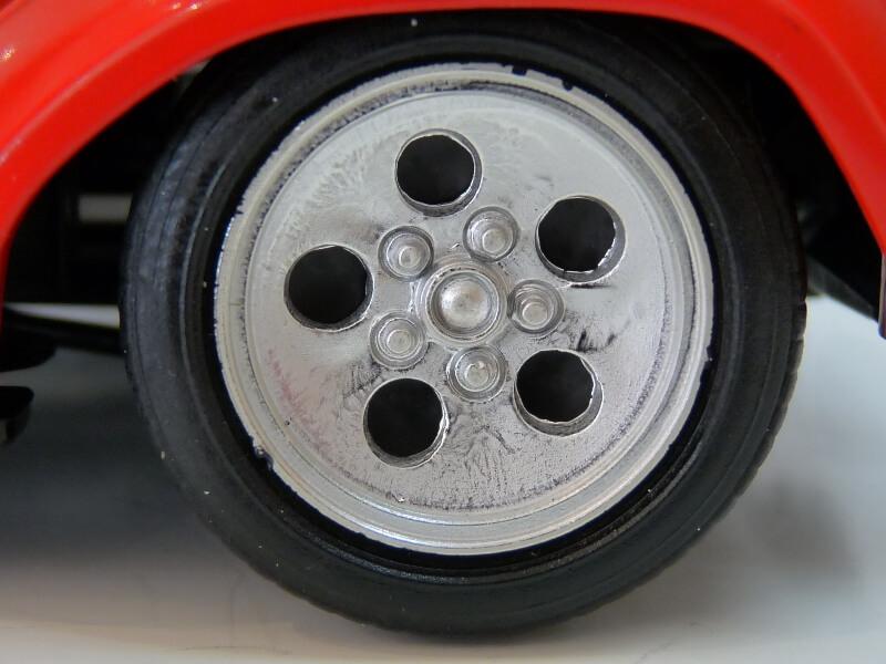 Lamborghini Countach LP 5000 QuattroValvole - 1983 - Tonka Polistil 1/18 ème Lclp_527