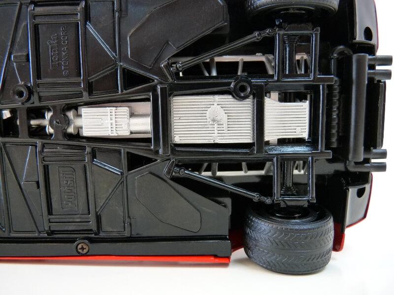 Lamborghini Countach LP 5000 QuattroValvole - 1983 - Tonka Polistil 1/18 ème Lclp_531