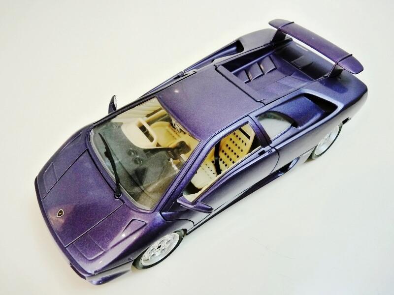 Lamborghini Diablo - 1990 - BBurago 1/18 ème Ldiabl11