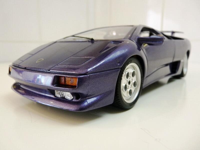 Lamborghini Diablo - 1990 - BBurago 1/18 ème Ldiabl12