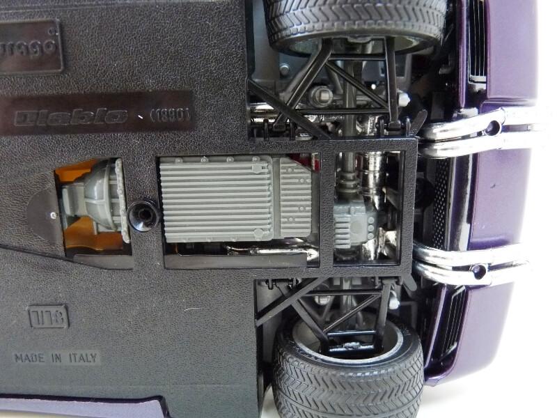 Lamborghini Diablo - 1990 - BBurago 1/18 ème Ldiabl14